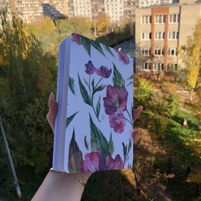 Bullet journal «Цвети»