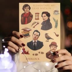 "Стикер-пак ""Шерлок Холмс"""